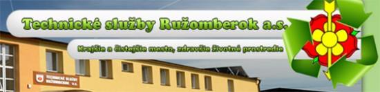 Technické služby Ružomberok - Hlavný partner MBK 2015